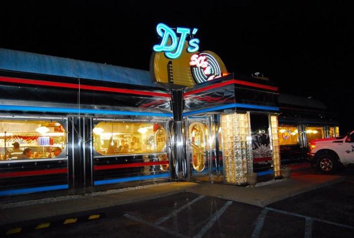 5. DJ's 50s & 60s Diner in Fairmont