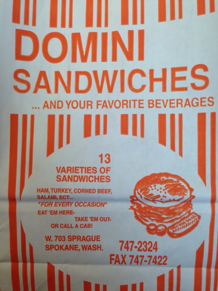 10. Domini Sandwiches, Spokane