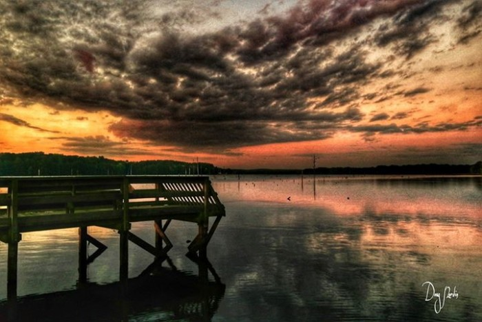 20. Clouds over Lake Atkins by Doug Nordin