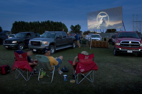 10. Watch a drive-in movie (if the time is right).