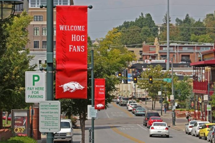 3. Find out what's in Fayetteville besides the University of Arkansas.