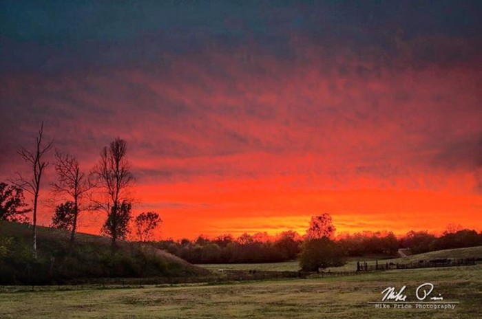 14. Fayetteville Sunset by Mike Price