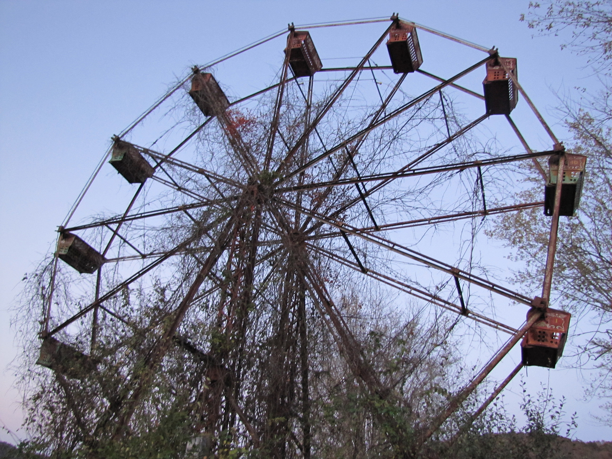 West Virginia S Creepy Abandoned Amusement Park