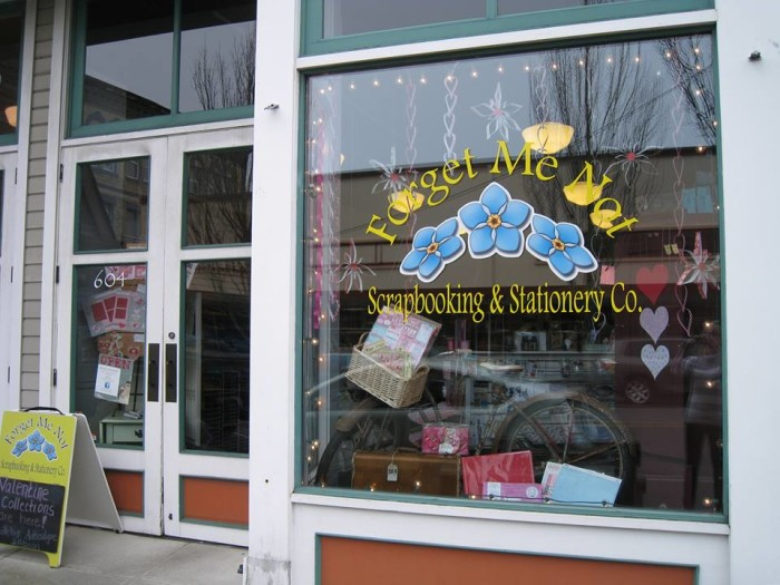 9. Forget Me Not Scrapbooking, Anacortes