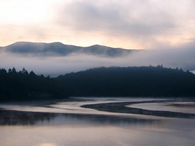 6) Sherrie Ingram Dulong captured this serene and foggy morning at Little River, right from her camper.