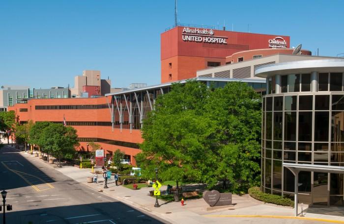 13. United Hospital, St. Paul