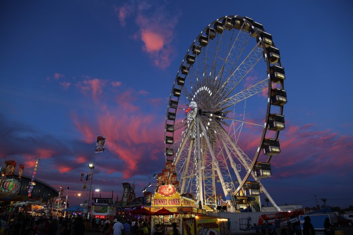4. You know what else is here? The Arizona State Fair! I know that I can't wait to get my hands on a delicious plate of funnel cake.