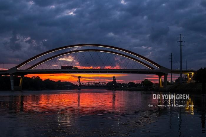 1. David Youngren captured this phenomenal Hastings sunrise.