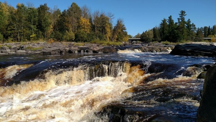 2. Susan Wachtler captured this Big Falls beauty. The fall foliage is just starting and looks spectacular!