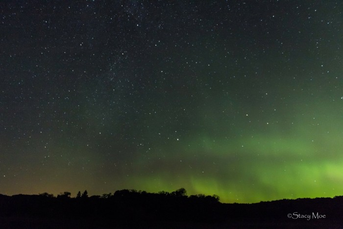 8. One of Stacy Moe's spectacular Northern Lights shots!