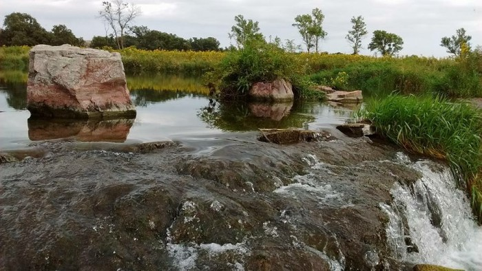 4. This photo of Pipestone on a calm day is absolutely gorgeous! Taken by Paula McKenzie Anderson!
