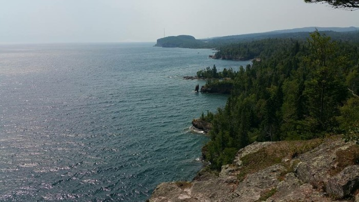 13. William Newton took this fantastic photo of Palisade Head from Shovel Point.