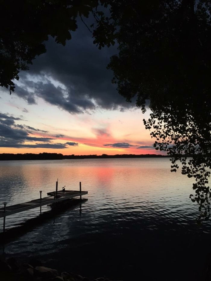 12. LeeAnn Harp took this awesome photo on Wall Lake!