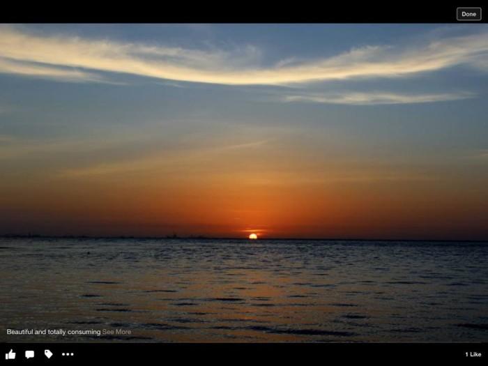 11) Beautiful Sunset on Johnson Bayou by Janell Powell Newton
