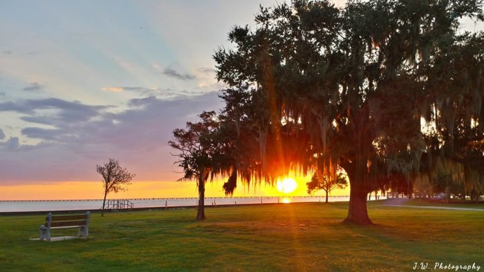 7. Another Jerry Touchstone pic, this one at Lake Pontchartrain.
