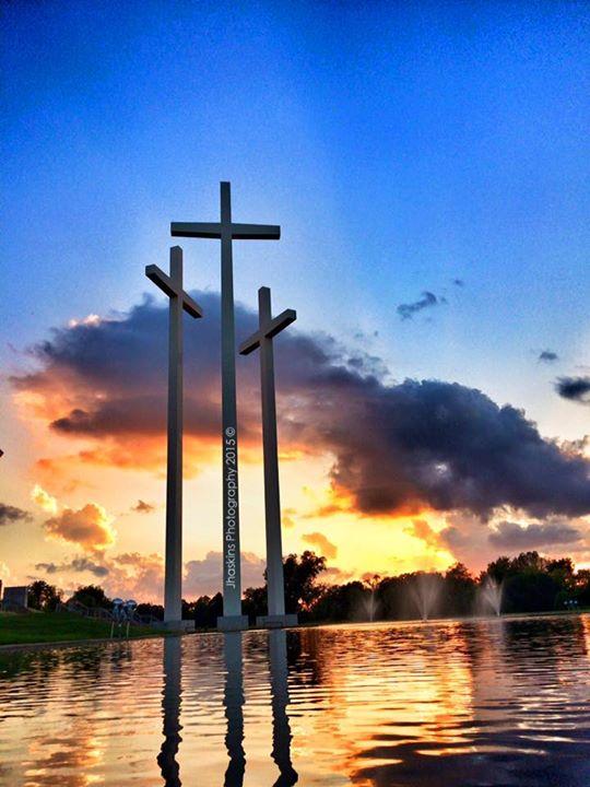 28. Three Crosses by Joel Haskins