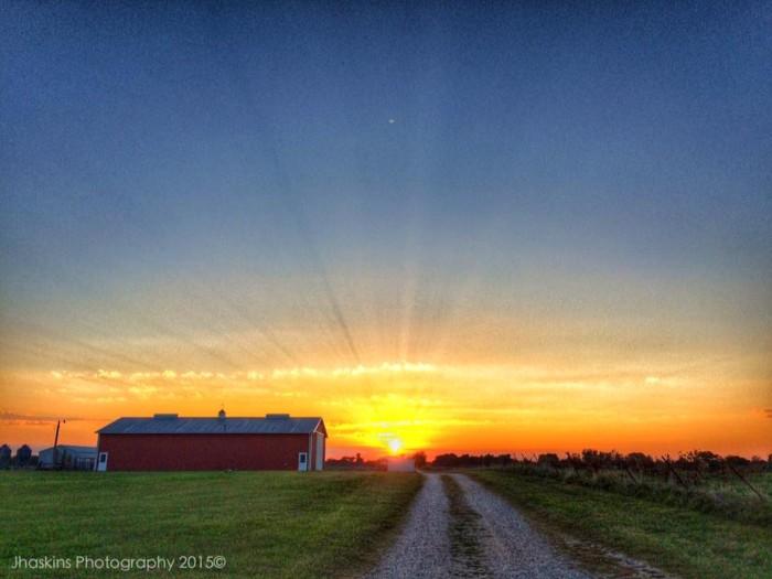 11. Gravette Sunset by Joel Haskins