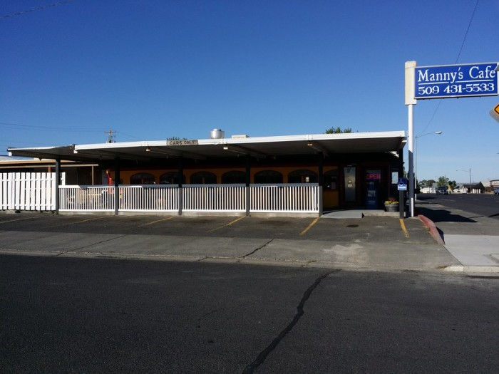 9. Manny's Cafe, Moses Lake