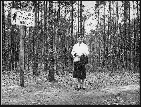 1. Devil's Tramping Ground, near Bennett