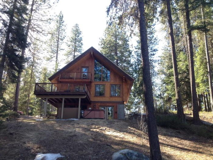 5. A cabin in Leavenworth