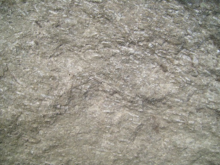 9. Limestone would be in short supply.