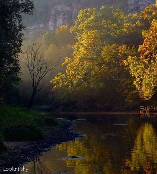 8. Little Red River Autumn by Looknfishy