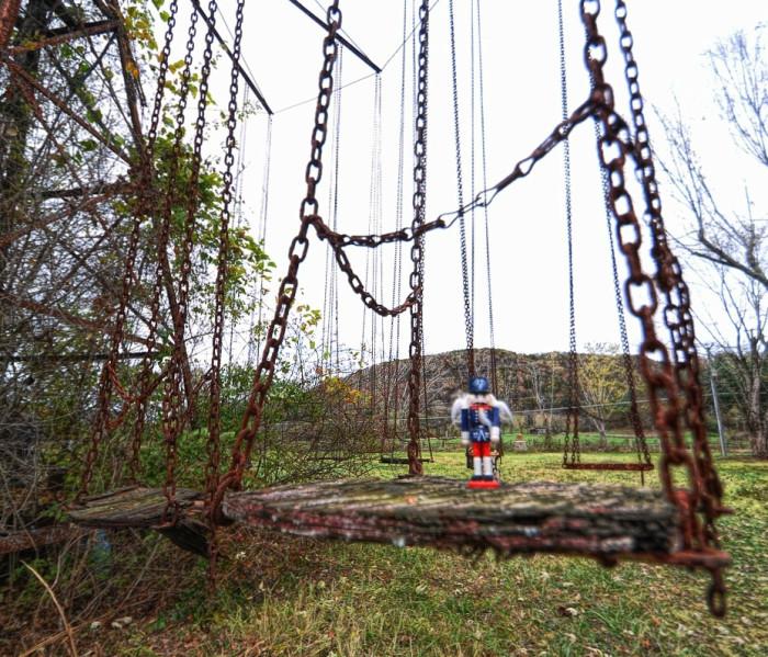 Haunted abandoned amusement parks