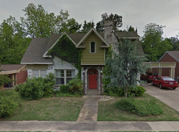 8. Pass by Mr. Lyle's house in Jonesboro if you dare.