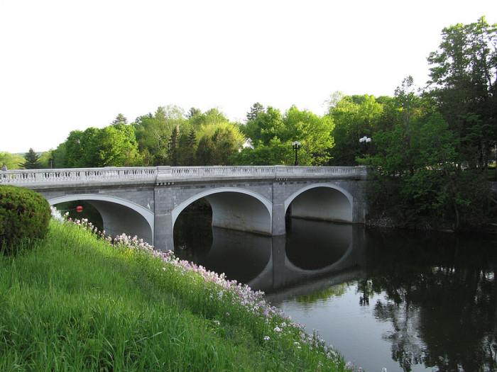 12.  Marble bridge in Proctor.