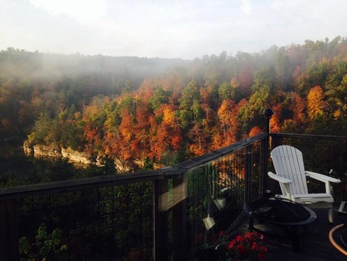 9. Beaver Lake Fall Foliage by Marsha Emanuelson