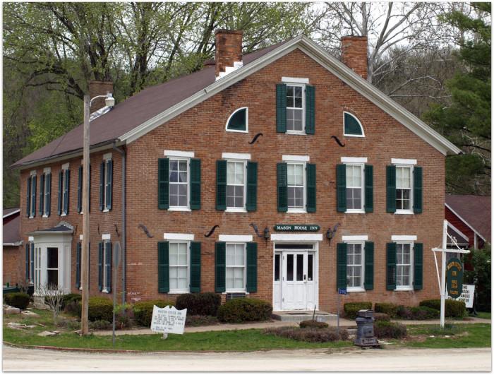 8. The Mason House Inn, Bentonsport