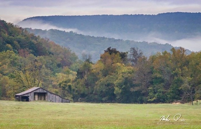 24. Boxley Valley Barn by Mike Price