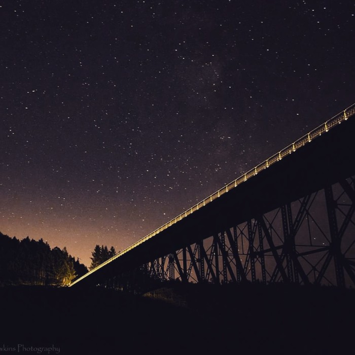 10. The Milky Way, as seen over Deception Pass! Photo by JB Hawkins Photography.