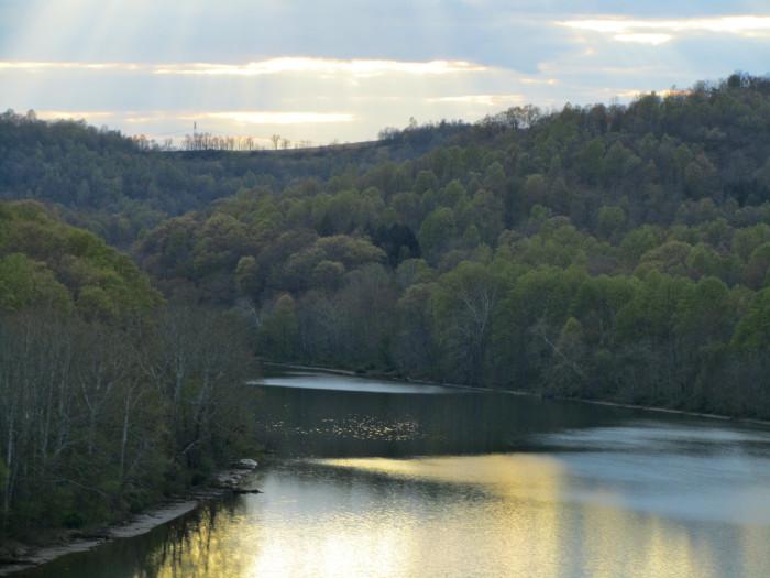 7. The Monongahela River
