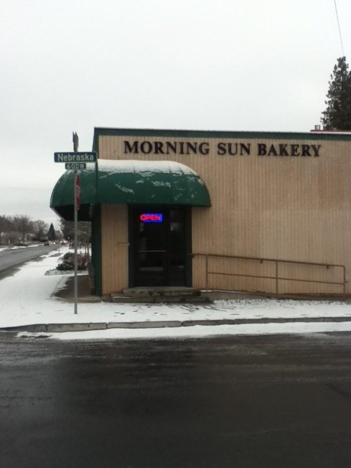 3. Morning Sun Bakery, Spokane
