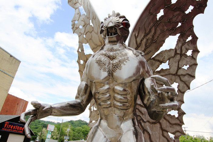1. Mothman and the collapse of the Silver Bridge