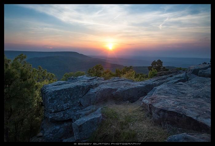 8. Mt. Nebo Sunset by Bobby Burton