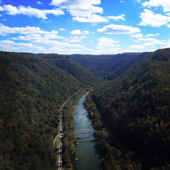 2. Megan Bigler took this great shot of the New River Gorge (most likely taken Saturday on Bridge Day).