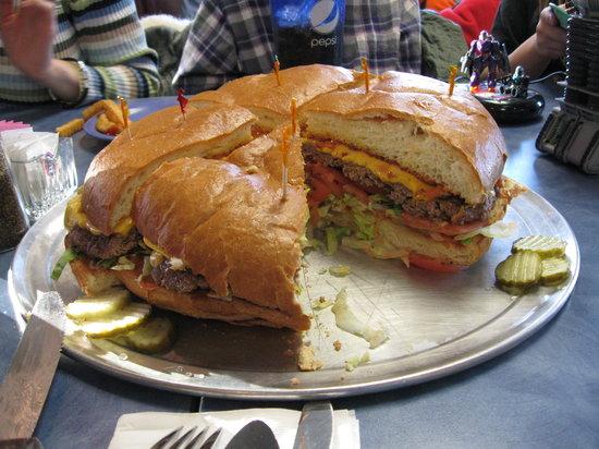 3) Kriner's Family Burger Challenge