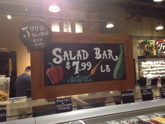 Want an entire pound of salad? Yum!