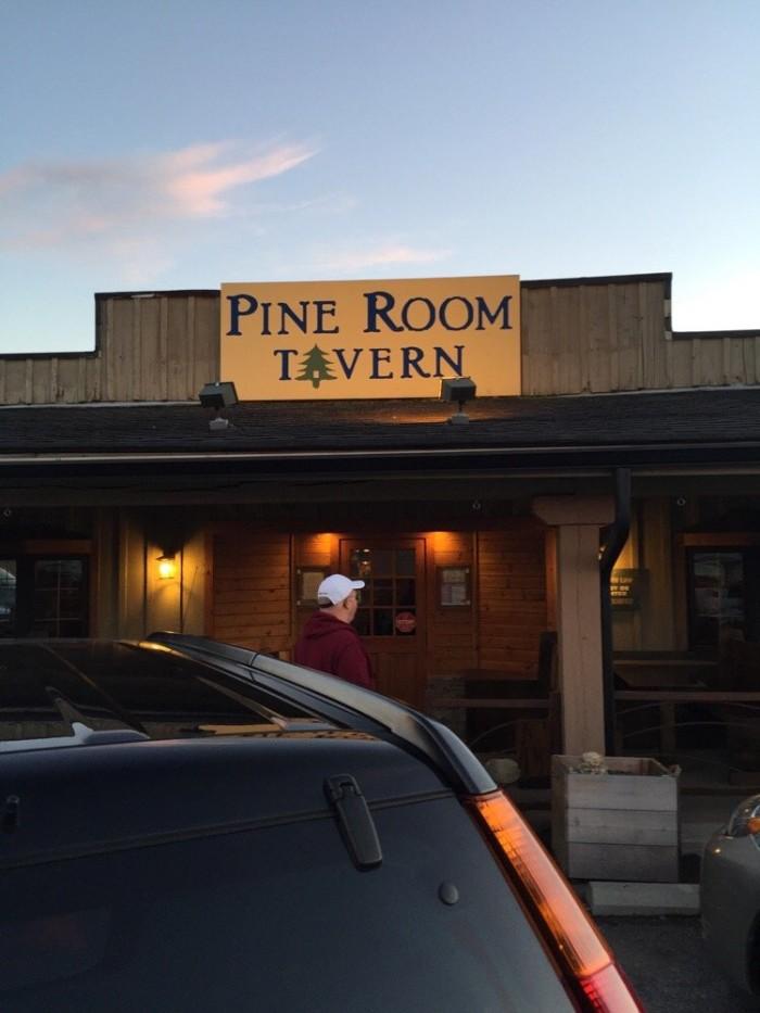 6. Pine Room Tavern