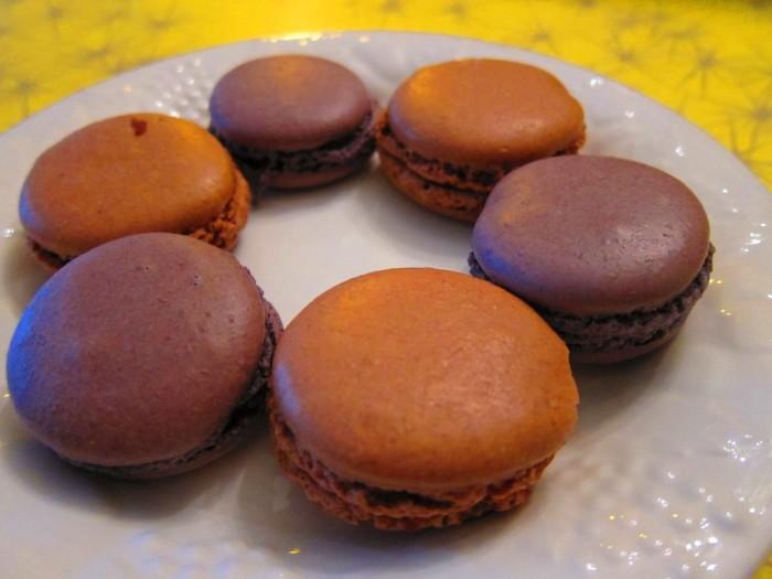 2. Lavender apricot & nutella Macaroons  at Papillote - 218 W Broughton St Savannah, GA 31401
