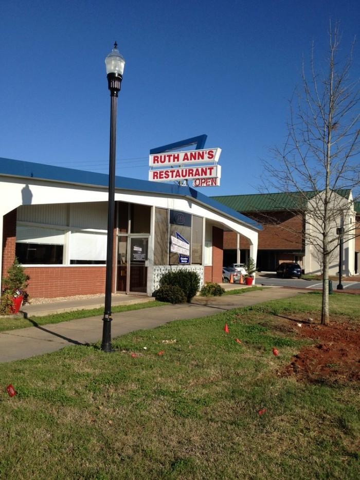 9. Ruth Ann's Restaurant - 941 Veterans Pkwy, Columbus, GA 31901