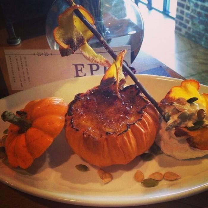 3. Pumpkin Brûlée at Epic Restaurant - 1201 Front Ave Ste E Columbus, GA 31901