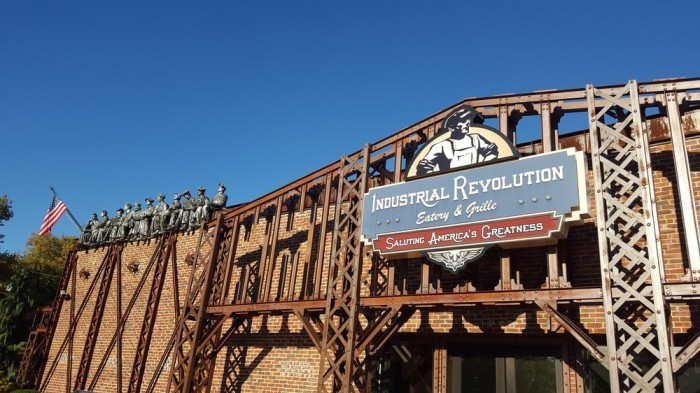 8. Industrial Revolution Eatery & Grille
