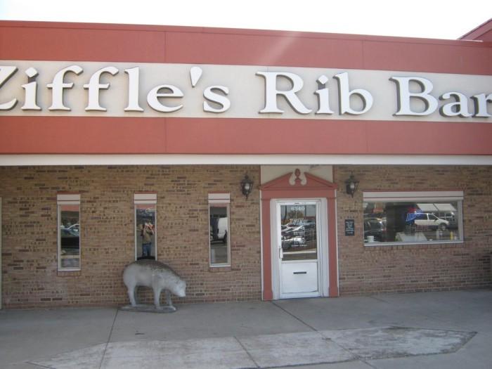 2. Ziffles Rib Bar