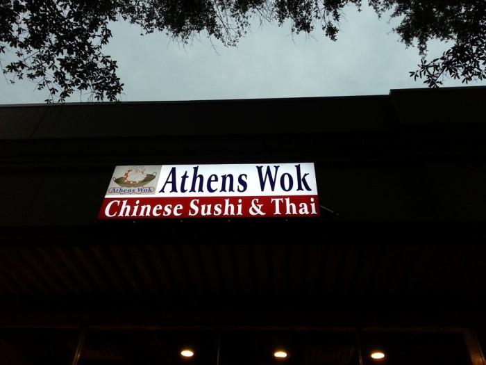 4. Athens Wok - 493 E Clayton St Athens, GA 30601