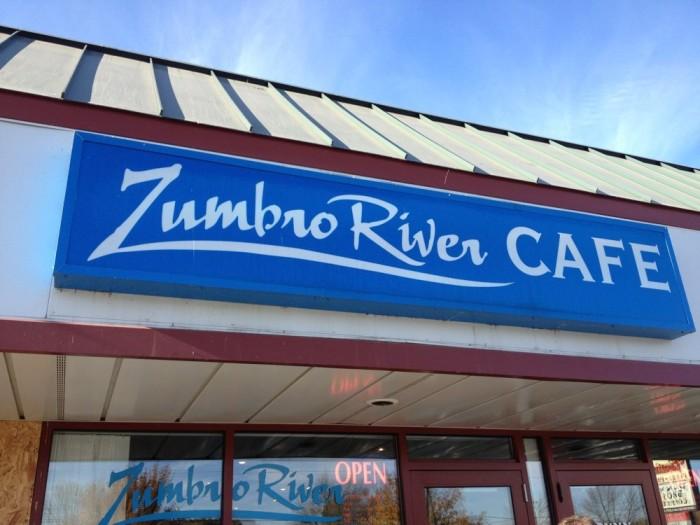 4. Zumbro River Cafe, Rochester