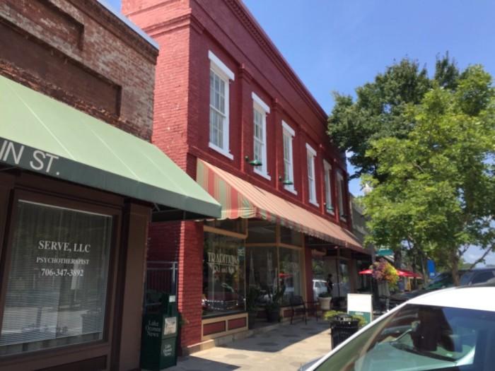 1. Buttermilk Pie at The Yesterday Cafe - 114 N Main StGreensboro, GA 30642