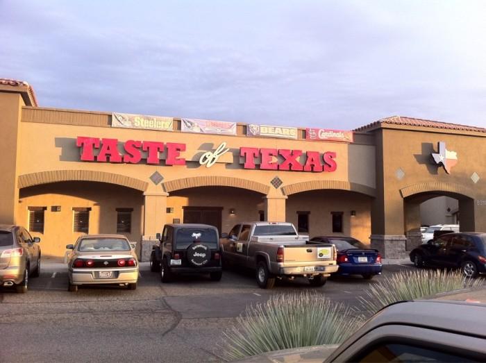 3. Colt's Taste of Texas Steakhouse, Tucson